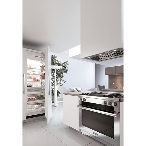 HR 1936 G 36 inch Freestanding Cooker product photo Back View L
