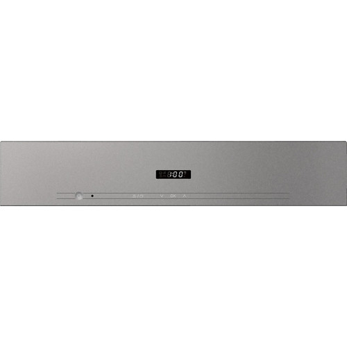 DG 2840 VitroLine Graphite Grey Built-in Steam oven product photo Back View L