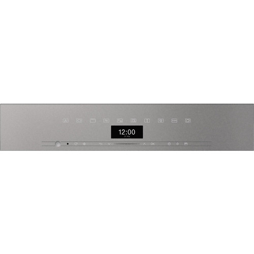H 7440 BMX Handleless Artline Graphite Gray Speed Oven product photo Back View L