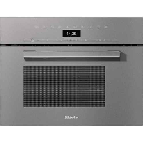 DGM 7440 VitroLine Graphite Grey Steam oven with microwave product photo