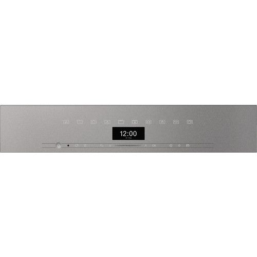 H 7464 BPX Handleless ArtLine Graphite Grey Pyrolytic oven product photo Back View L