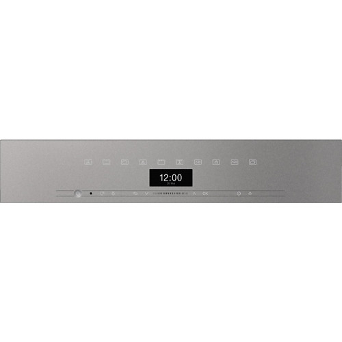 H 7464 BP VitroLine Graphite Grey Pyrolytic Oven product photo Back View L