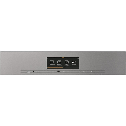 H 7860 BPX Handleless ArtLine Graphite Grey Pyrolytic oven product photo Back View L