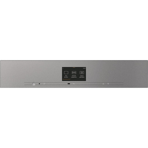 H 7660 BP VitroLine Graphite Grey Pyrolytic Oven product photo Back View L