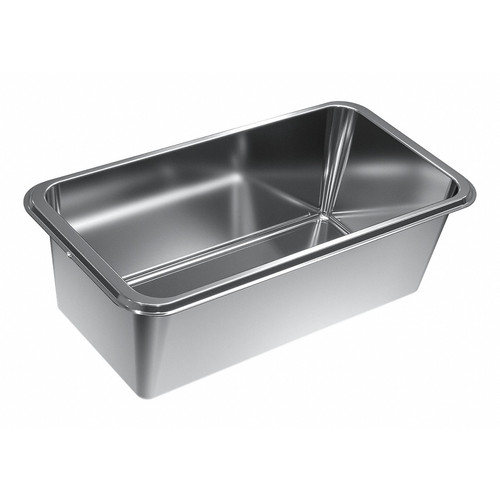 DGG 50 120 Unperforated steam cooking container product photo Front View L