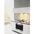 KM 2012 Gas cooktop product photo Back View S