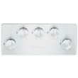 KM 2357-1 Gas cooktop product photo Back View S