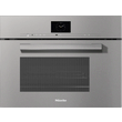 DGM 7640 VitroLine Graphite Grey Steam oven with microwave product photo