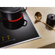 KM 6520 Electric cooktop with onset controls product photo Back View S