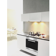KM 2012 G Stainless Steel Gas Cooktop product photo Back View S