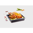 HUB 5001-XL Large Induction Gourmet Casserole Dish product photo Laydowns Detail View S