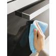 All purpose microfibre cloth - 1 pack product photo Back View S