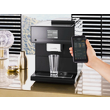 CM 7750 Benchtop coffee machine - Obsidian Black product photo Laydowns Back View S