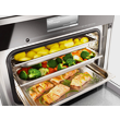 DGG 20 Unperforated steam cooking container product photo Back View S