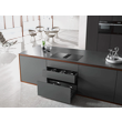 KMDA 7633 FL Induction Cooktop with Integrated Downdraft Extractor product photo View3 S