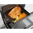HUB 61-35 Large Gourmet Oven Dish product photo Laydowns Back View S
