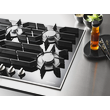 KM 3054-1 Gas cooktop product photo Back View S