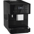 CM 6160 MilkPerfection Obsidian Black Benchtop coffee machine product photo Laydowns Detail View S