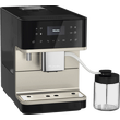 CM 6360 MilkPerfection Obsidian Black Benchtop coffee machine product photo Laydowns Detail View S