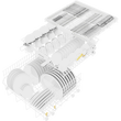 G 5000 SCU CLST Active Built-under dishwasher product photo Back View S
