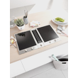 CSDA 1010 ProLine with downdraft extractor product photo Laydowns Back View S