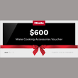$600 Cooking Accessories Voucher product photo