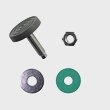 Miele Tumble Dryer Foot - Spare Part 00304595 product photo