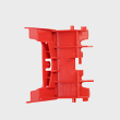 Miele Vacuum Bracket - Spare Part 06791731 product photo Back View S