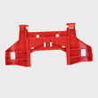 Miele Vacuum Bracket - Spare Part 05963942 product photo Back View S