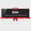 $120 Miele for Life Cleaning & Care Voucher product photo