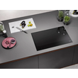 KM 7678 FL Induction cooktop product photo Back View S