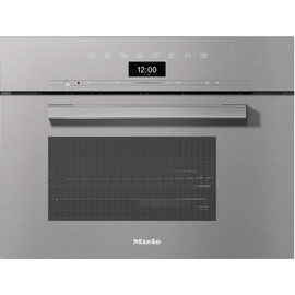 DG 7440 VitroLine Graphite Grey built-in steam oven product photo