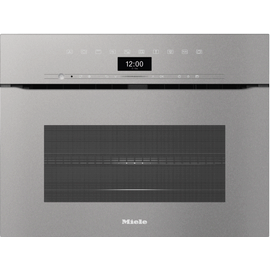 H 7440 BMX Handleless Artline Graphite Gray Speed Oven product photo