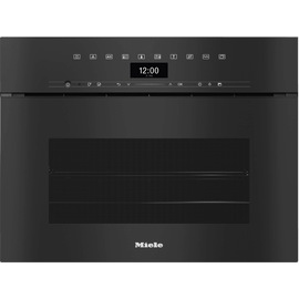 DGC 7440X Handleless XL ArtLine Obsidian Black Steam combination oven product photo