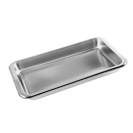 DGG 1/2 - 40L Unperforated steam cooking container product photo
