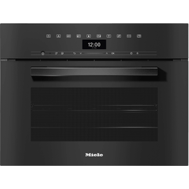 DGC 7440 XL VitroLine Obsidian Black Steam combination oven product photo