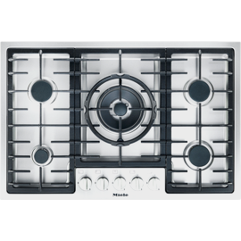 KM 2334 G Stainless Steel Gas Cooktop product photo