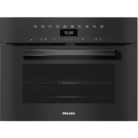 H 7440 BM VitroLine Obsidian Black Speed Oven product photo