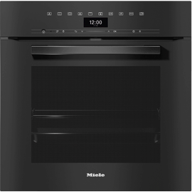 H 7464 BP VitroLine Obsidian Black Pyrolytic Oven product photo
