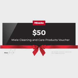 $50 Miele for Life Care Collection Voucher product photo