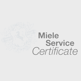 Steam Oven Miele Service Certificate product photo
