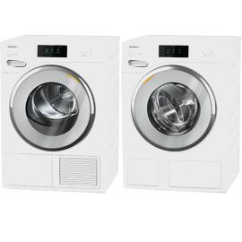 Laundry Set: WWV980 WPS Passion washing machine & TWV680 WP Passion tumble dryer product photo
