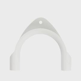 Miele Washing Machine Drain Elbow - Spare Part 09037692 product photo