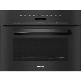 M 7244 TC VitroLine Obsidian Black Built-in Microwave oven product photo