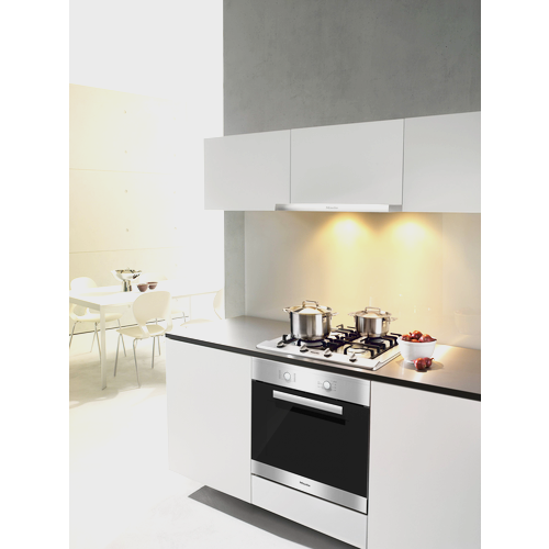 KM 2012 Gas cooktop product photo Back View L