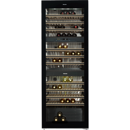 KWT 6831 SG Freestanding wine conditioning unit product photo Back View L