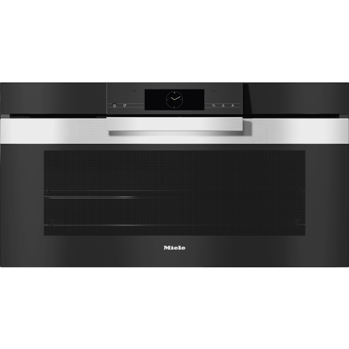 H 7890 BP PureLine CleanSteel 90cm Pyrolytic oven product photo