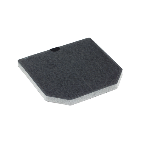 DKF9-P Charcoal Filter with active charcoal product photo Front View L