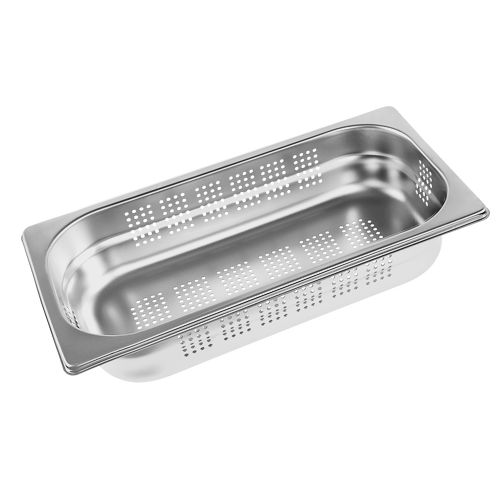 DGGL 5 Perforated steam cooking container product photo Front View L