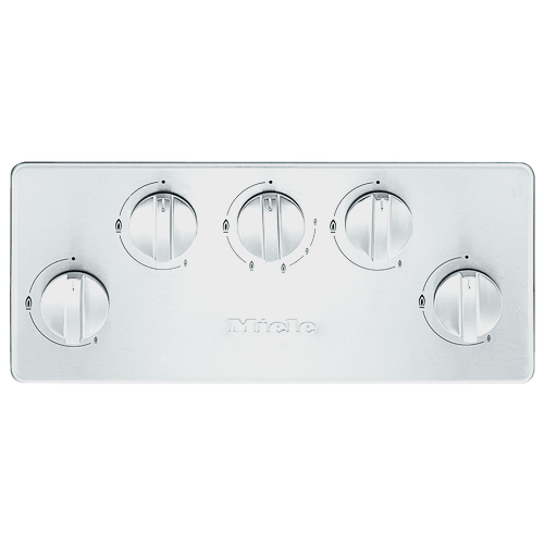 KM 2357-1 Gas cooktop product photo Back View L
